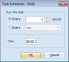 Task Scheduler - Daily